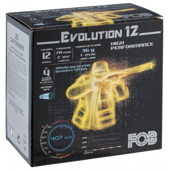 CARTOUCHES FOB EVOLUTION 12...