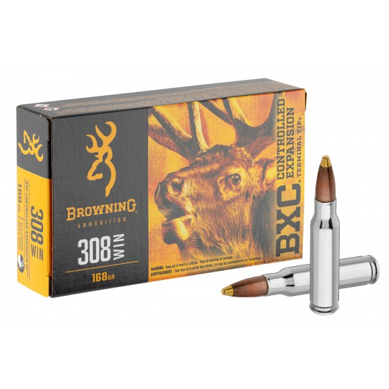 BALLES BROWNING BXC 308 WIN