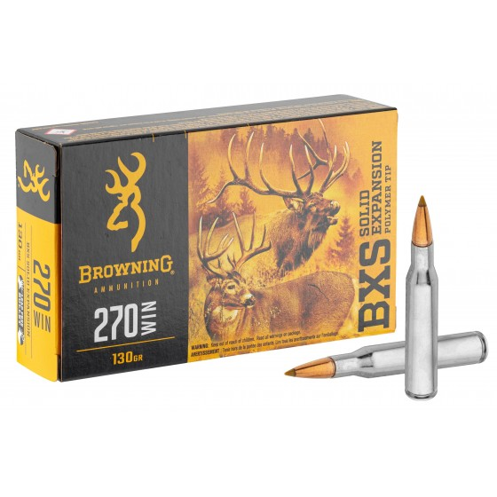 BALLES BROWNING BXS 270 WIN